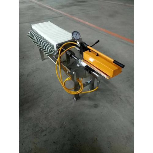 液壓千斤頂式壓濾機X500